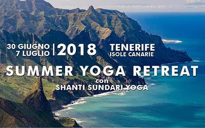 Yoga Retreat a Tenerife